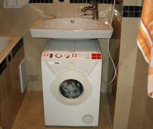 Gambaran keseluruhan mesin basuh kecil