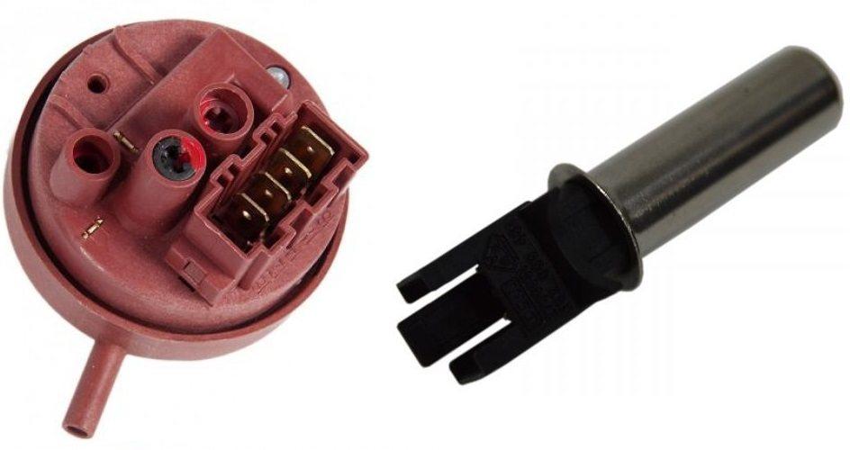 превключвател за налягане и сензор за температура