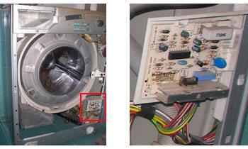 проводници в пералнята