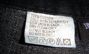 етикети на дрехи