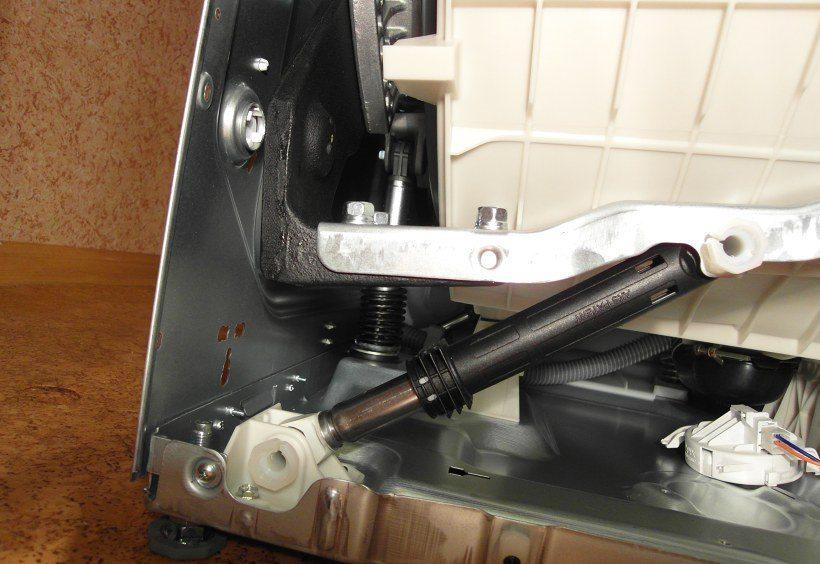 Как да проверите и поправите амортисьори на пералня