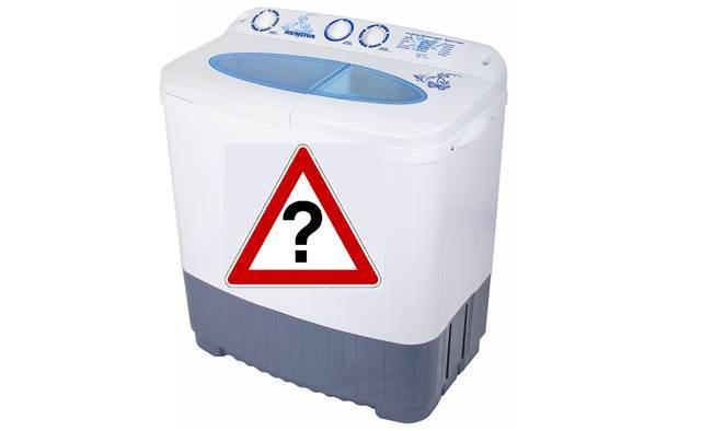Какво е полуавтоматична пералня?
