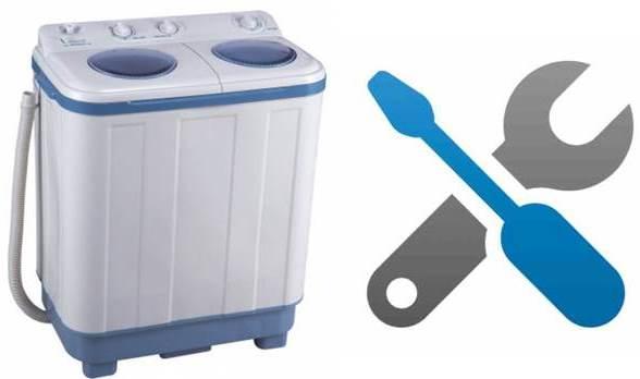 Ремонт на неизправности на пералните полуавтоматични устройства
