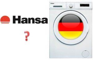 Siapa pengilang mesin basuh Hansa?