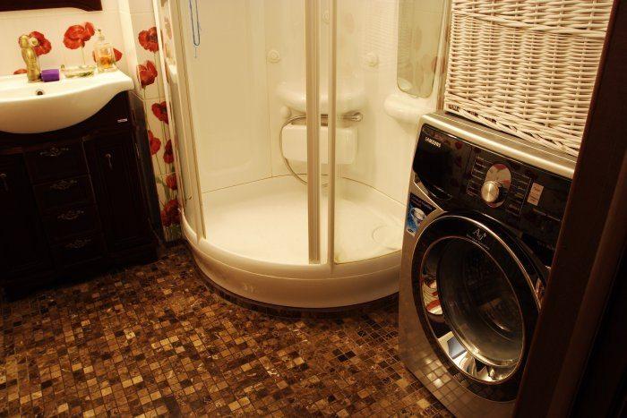 пералня и душ