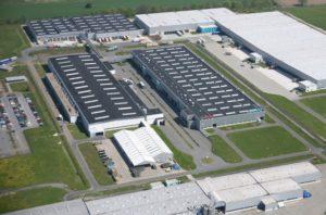 Фабрика за перални машини Bosch в Германия