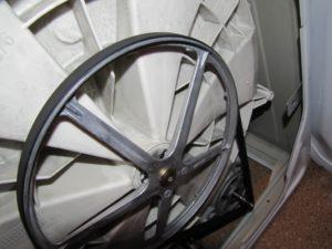 колан в пералнята