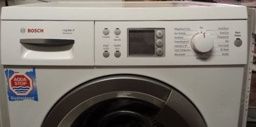Пералнята на Bosch не се включва