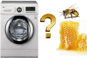 שעווה ממכונת כביסה