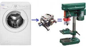 Kako napraviti stroj od motora iz perilice rublja