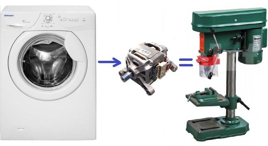 Как да направите машина от двигателя от пералня