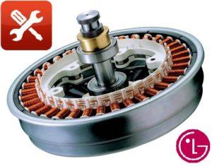 DIY LG mosógép motorjavítás