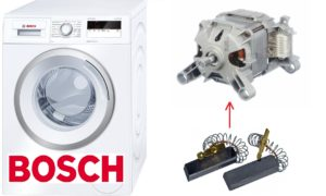 פירוק מכונת הכביסה של בוש