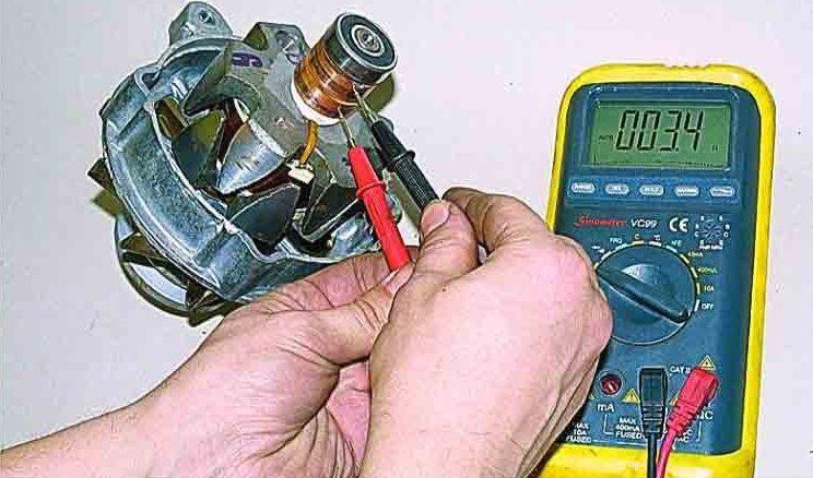 мултицетна проверка на двигателя