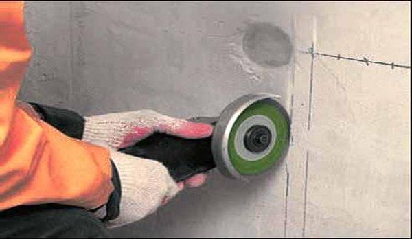 чипиране на стени