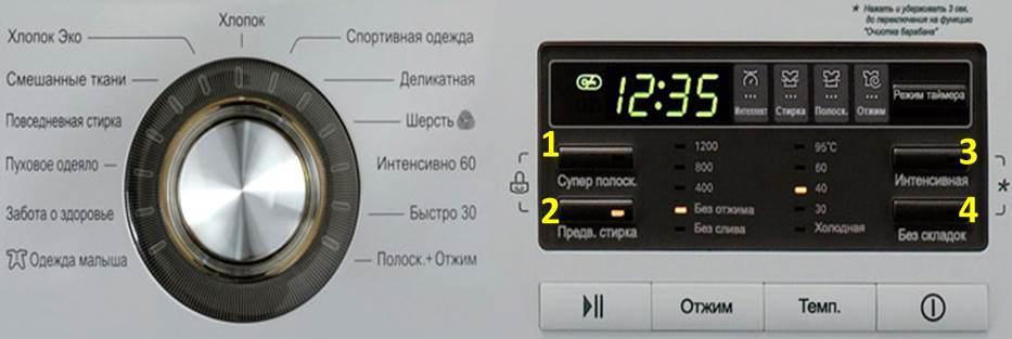 lg контролен панел