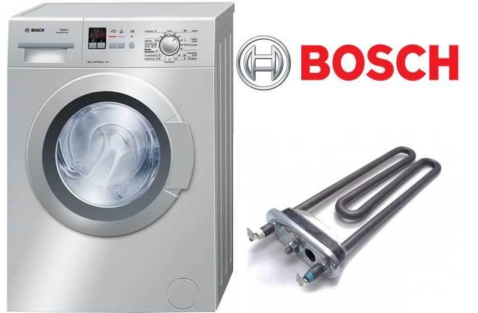 החלפת המחמם במכונת הכביסה בוש