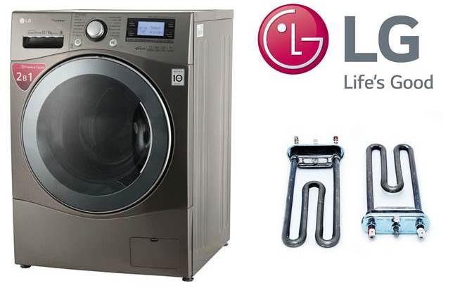 כיצד להחליף גוף חימום במכונת כביסה של LG
