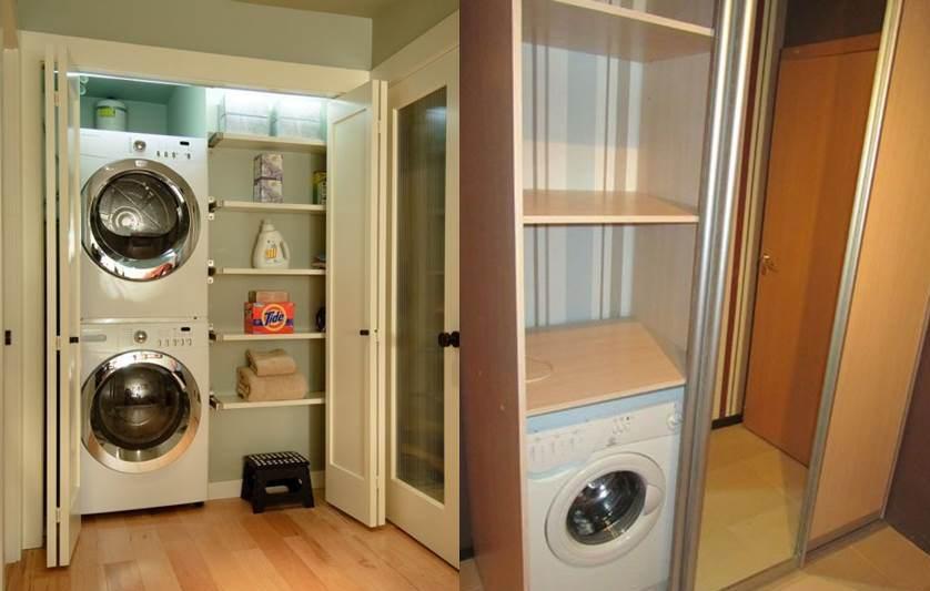 máy giặt ở hành lang 2