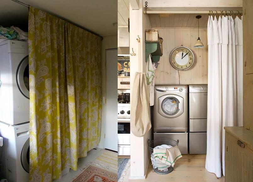máy giặt ở hành lang 4