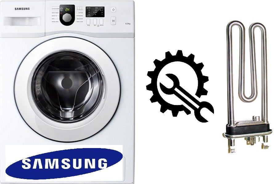 Kako zamijeniti grijač u perilici Samsung