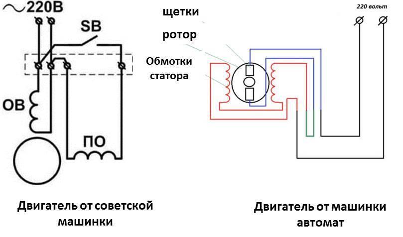 motor csatlakoztatási rajz