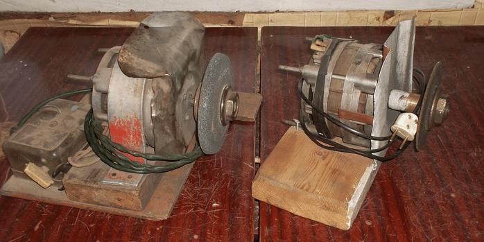Как да направите шлайф от двигателя от пералня
