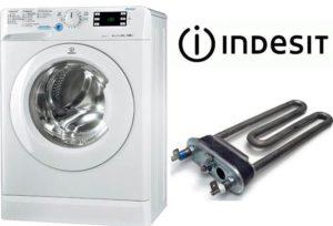 A fűtés cseréje egy Indesit mosógépben
