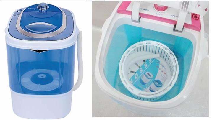 mosógépek centrifugálással és anélkül