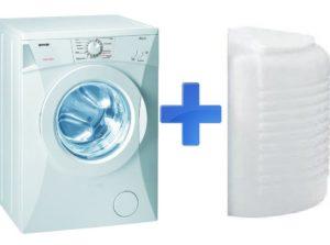 Mesin basuh untuk kotej musim panas