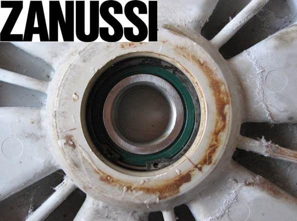 Подмяна на лагера в перална машина Zanussi