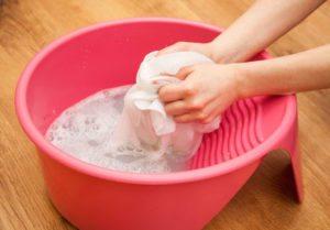 ръчно измиване