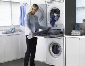 Bagaimana untuk memasang pengering tumbuk pada mesin basuh dalam lajur?