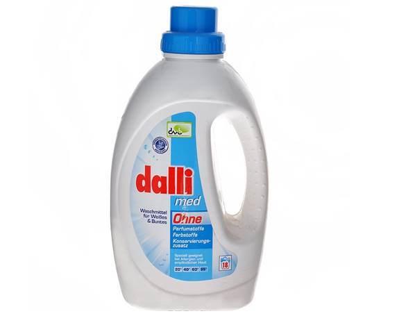 gel detergente dalli-med