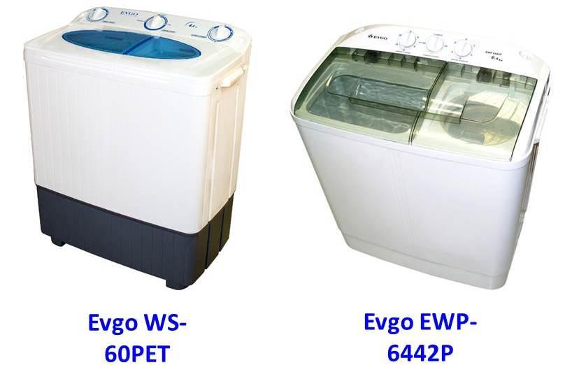 перални машини evgo