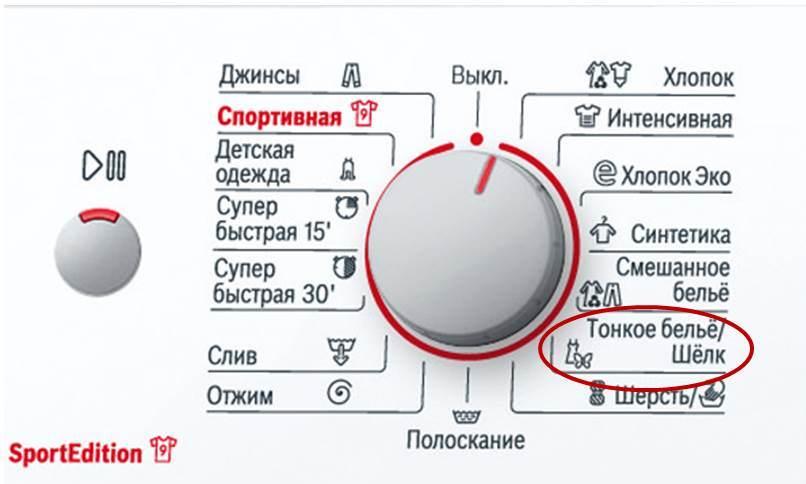 икона за пералня Bosch