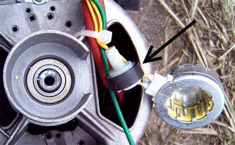 tachosensor stiralki мотор