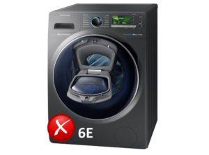 Грешка в пералнята на Samsung 6E (bE)