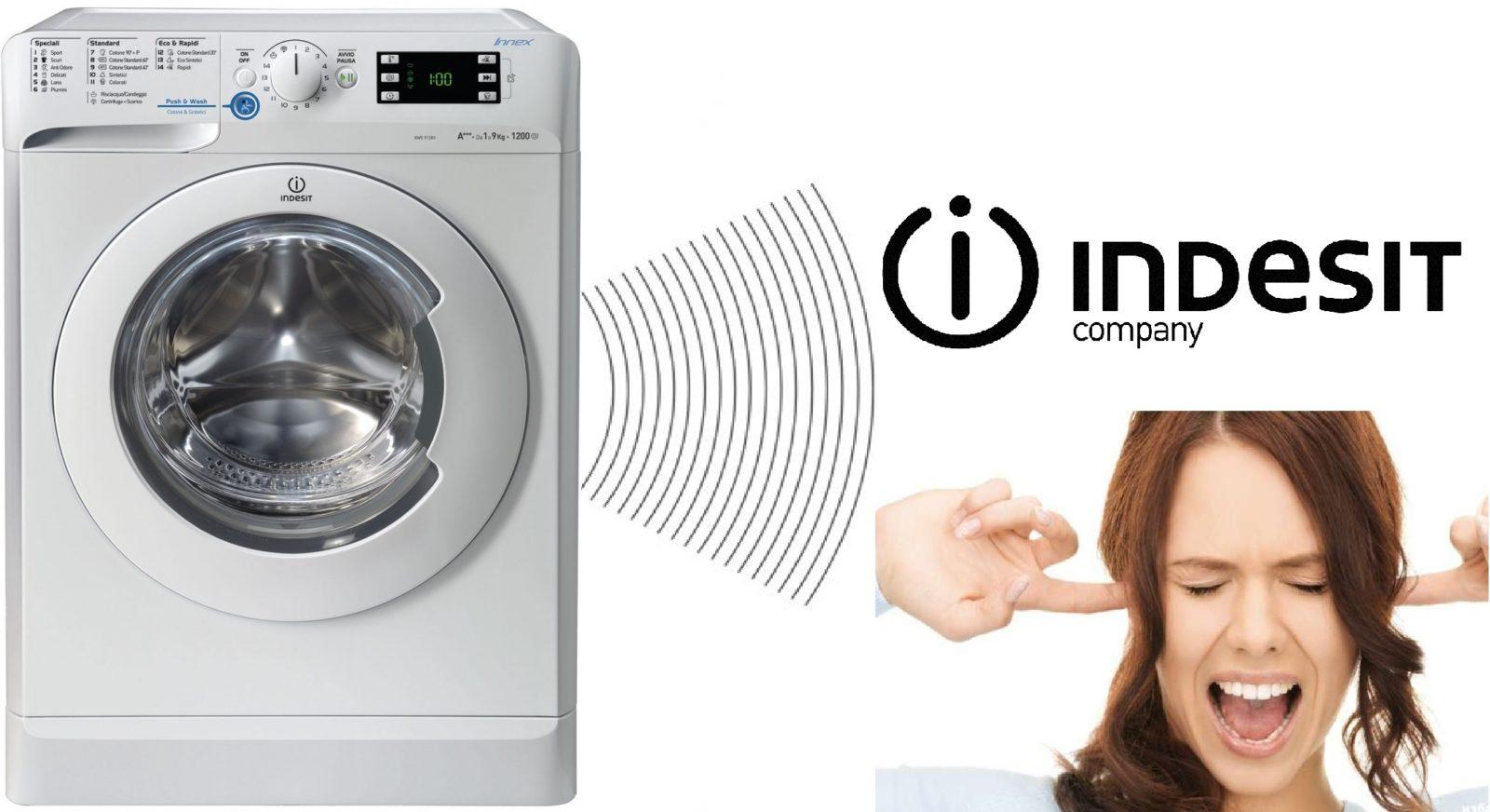 Indesit перална машина дрънка, докато се върти
