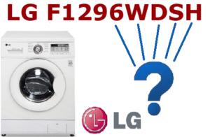 Menandakan mesin basuh LG dengan penyahsulitan