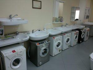 Tetapkan - mesin basuh dengan sinki