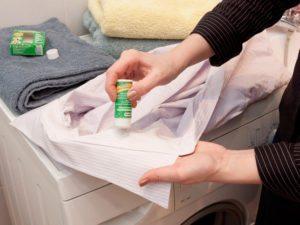почистване на дрехи