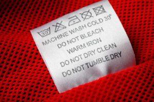 етикет за дрехи
