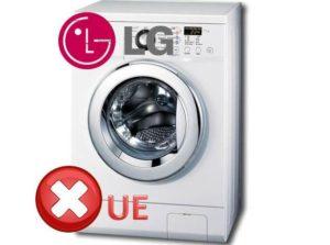 Грешка UE пералня LG