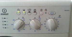 грешка f12 на пералнята Indesit без дисплей