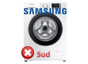 Kesalahan SUD di mesin basuh Samsung