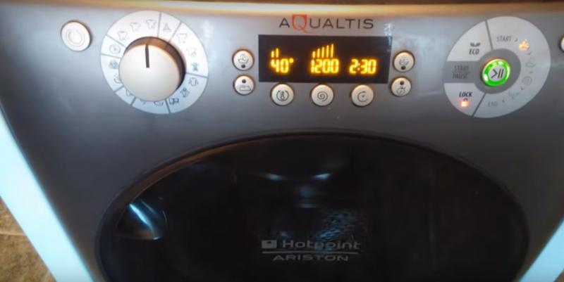 панел на пералня Ariston Aqualtis