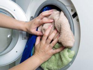 претоварване на барабана на пералнята