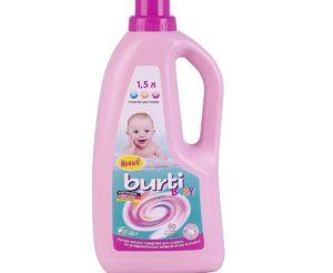 Бурти гел за пране на дрехи бебе