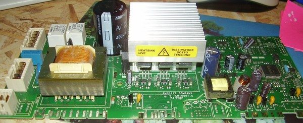 Ariston mosásvezérlő modul